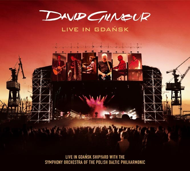 David Gilmour. Live In Gdansk CD/DVD 2008